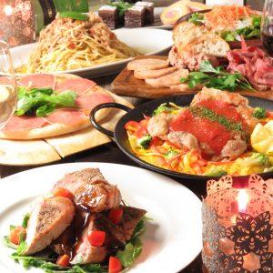 立川駅1分 本格パスタが美味しいイタリアン&スパニッシュのお店『CANTINA 立川店』でいただける、グリル料理やピザ、パスタなどの料理