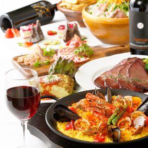 立川駅1分 本格パスタが美味しいイタリアン&スパニッシュのお店『CANTINA 立川店』でいただける、パエリアなどのお料理