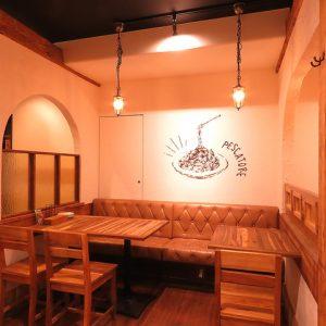 立川駅1分 本格パスタが美味しいイタリアン&スパニッシュのお店『CANTINA 立川店』の、広々とした店内空間