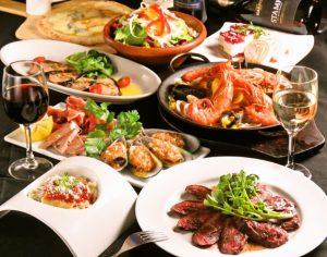 立川駅1分 本格パスタが美味しいイタリアン&スパニッシュのお店『CANTINA 立川店』でいただける、肉料理を中心としたコース